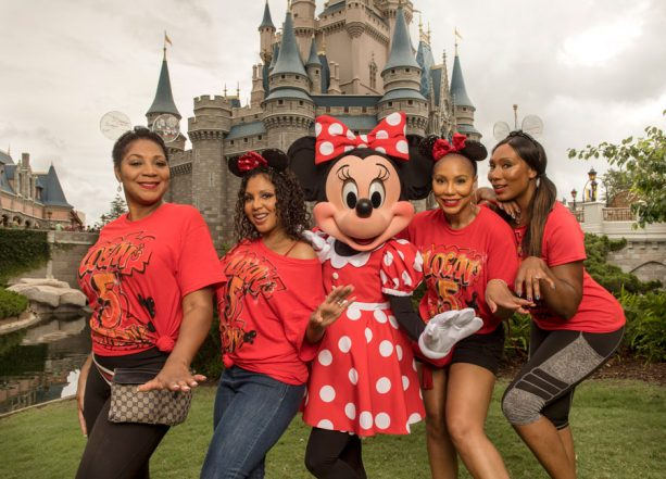 Tamar and Toni Braxton Vacation at Walt Disney World Resort for Toni's First Ever Roller Coaster Ride