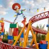 Amazing Aerial Footage of Toy Story Land Offers Birds-Eye View of Slinky Dog Dash & More