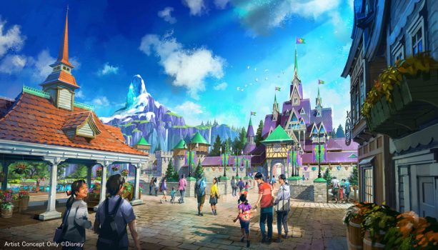 Largest Ever Tokyo DisneySea Expansion Brings a New Themed Port in 2022