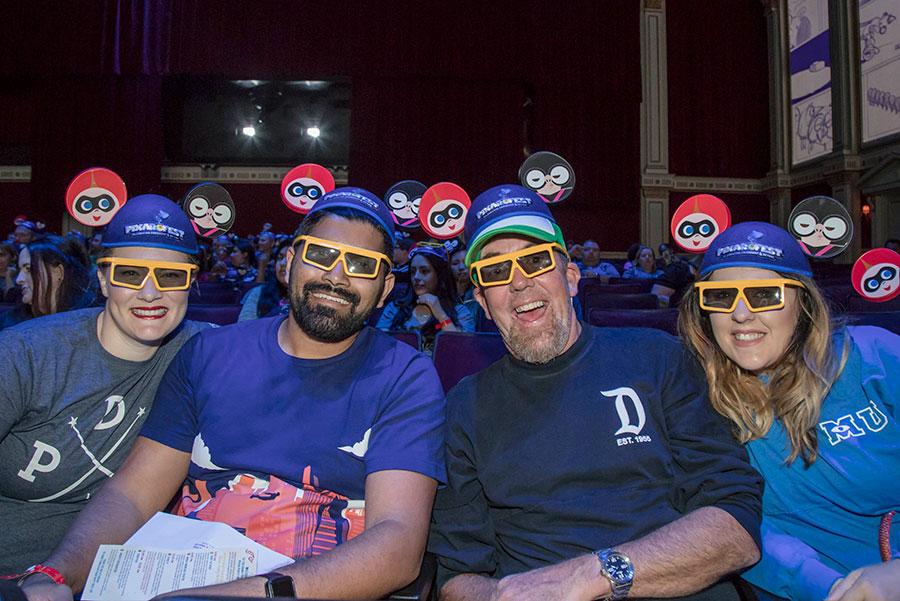 Disney Parks Blog fans enjoying the meet-up event