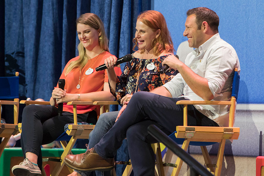 Panel discussion with Imagineers, meet-up event at Disney California Adventure