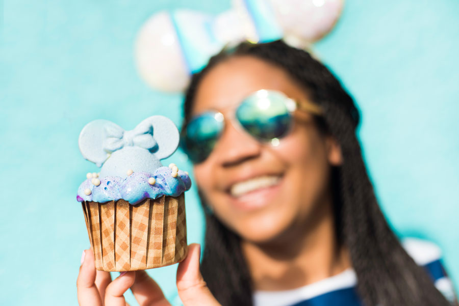 Iridescent Cupcake at Disney's All Star Resorts and Disney's Saratoga Springs Resort & Spa