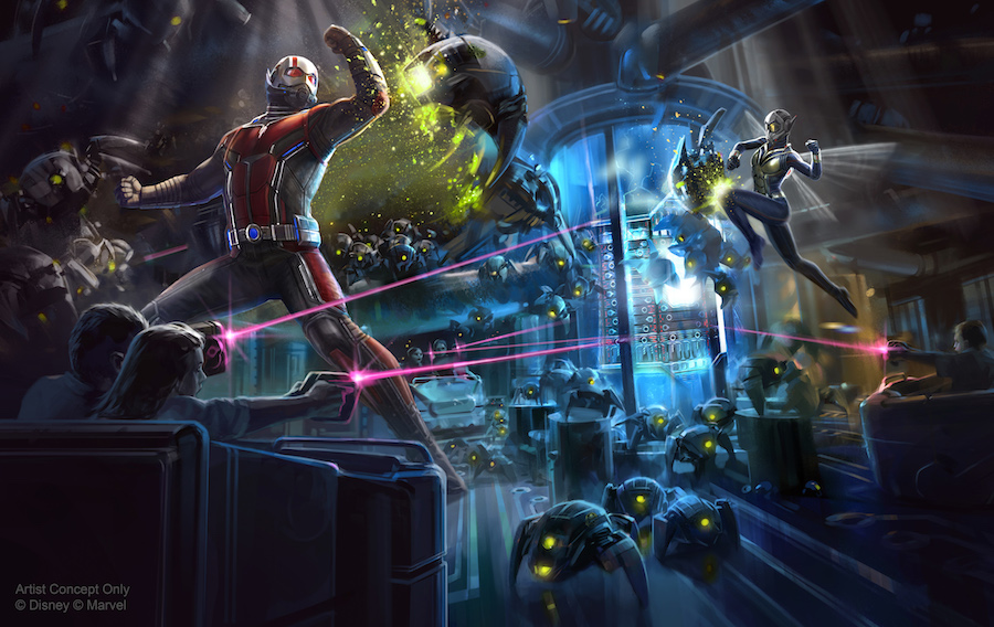 Ant-Man and The Wasp: Nano Battle! Coming to Hong Kong Disneyland in 2019