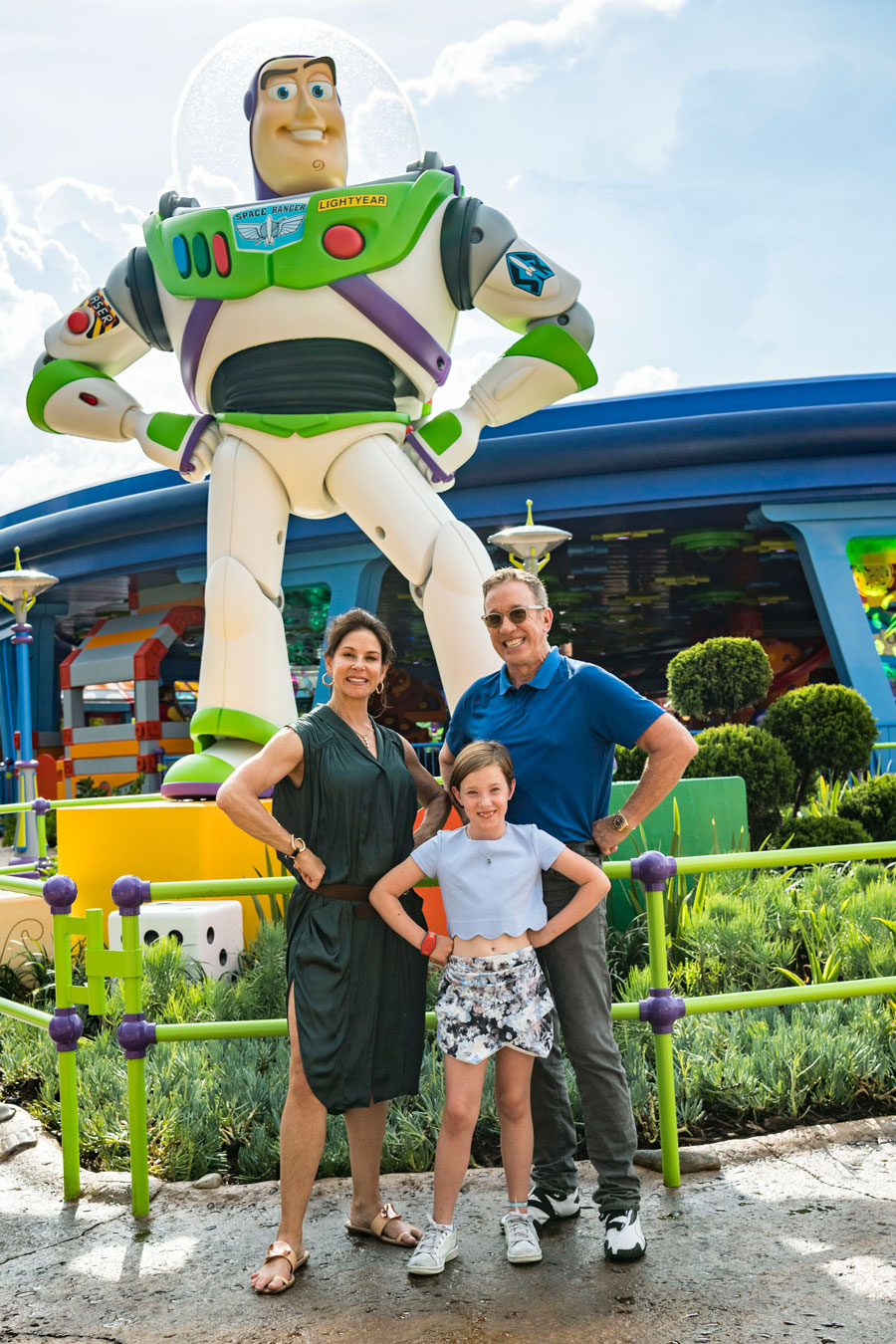 "VIDEO: Tim Allen Goes ""To Infinity and Beyond"" in Toy Story Land at Walt Disney World Resort"