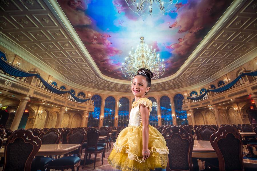 Girl Posing in the Disney PhotoPass Studio at Disney Springs