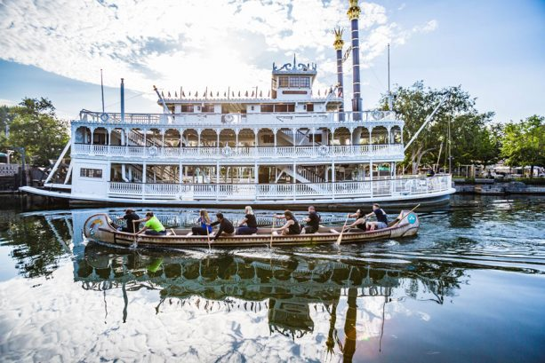 Disneyland Resort Cast Members Row on with Annual Canoe Races Tradition and other Exclusive Experiences