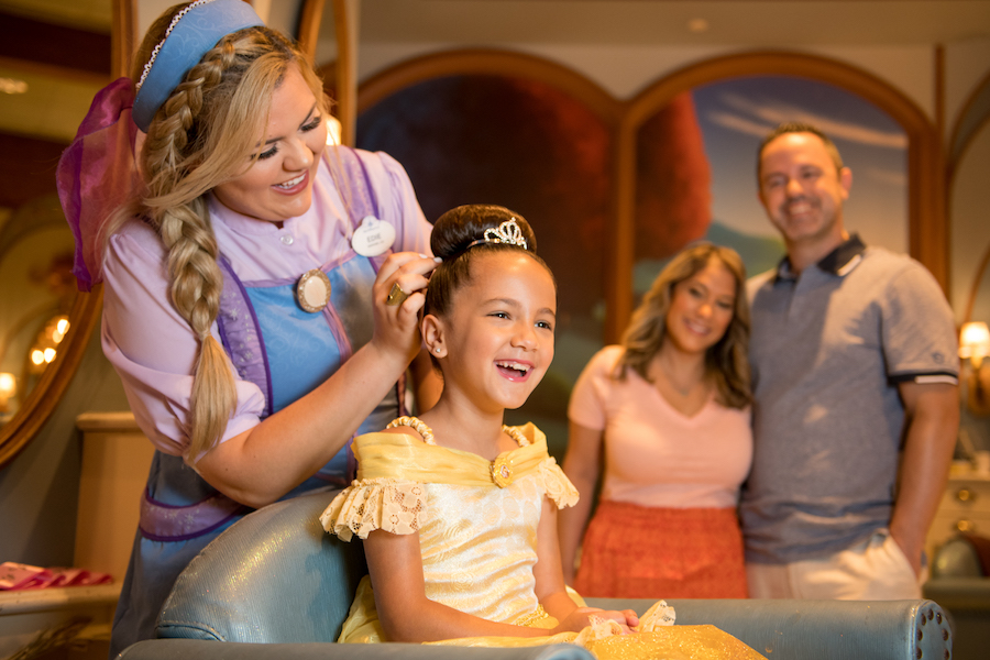 Fairy Tale Photo Ops at the Bibbidi Bobbidi Boutique and Disney PhotoPass Studio in Disney Springs