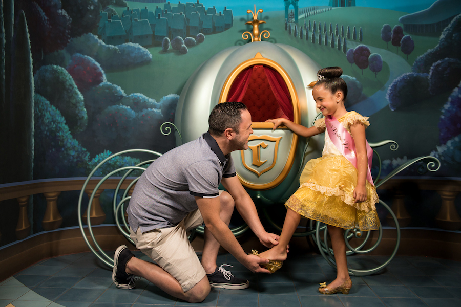 Magic Shot featuring Cinderella's Fairy Godmother at Disney Springs