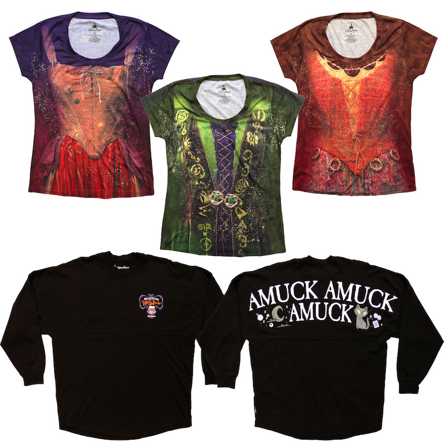 Run 'Amuck, Amuck, Amuck' with New Merchandise for Mickey's Not-So-Scary Halloween Party 2018