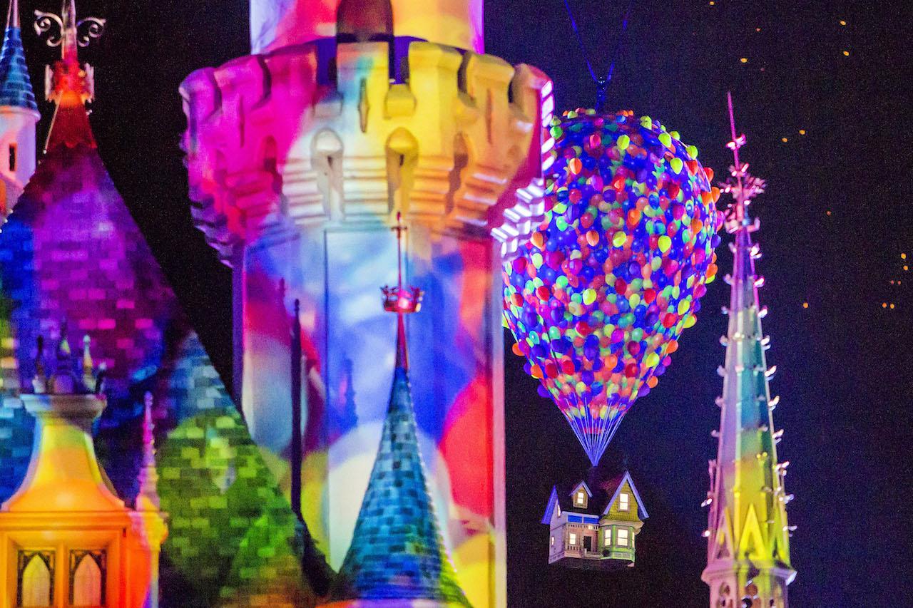 Last Chance to Enjoy 'Together Forever – A Pixar Nighttime Spectacular' for Pixar Fest at DisneylandResort