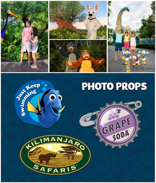 Photopass photo opportunities at Disney's Animal Kingdom