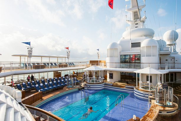 Adult only pools aboard Disney Cruise Line