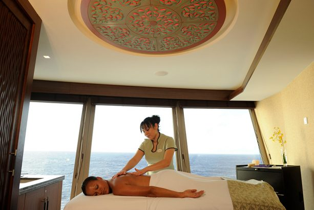 Senses Spa & Salon aboard Disney Cruise Line