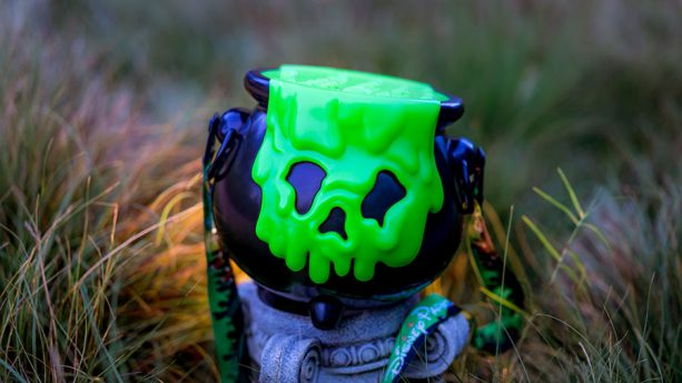 2018 Halloween Cauldron Premium Popcorn Bucket at Disney Parks