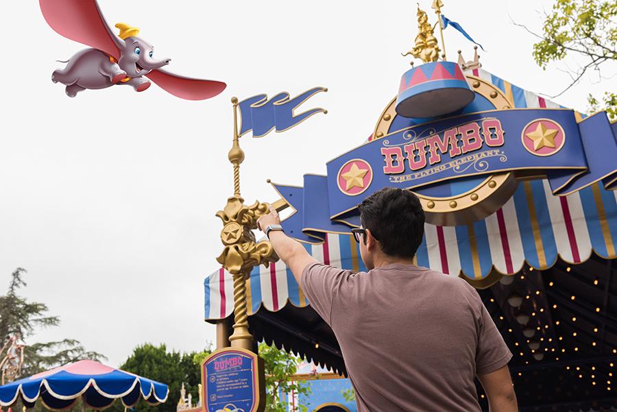 Dumbo Magic Shot Photopass