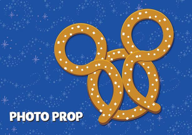 Mickey pretzel prop Photopass