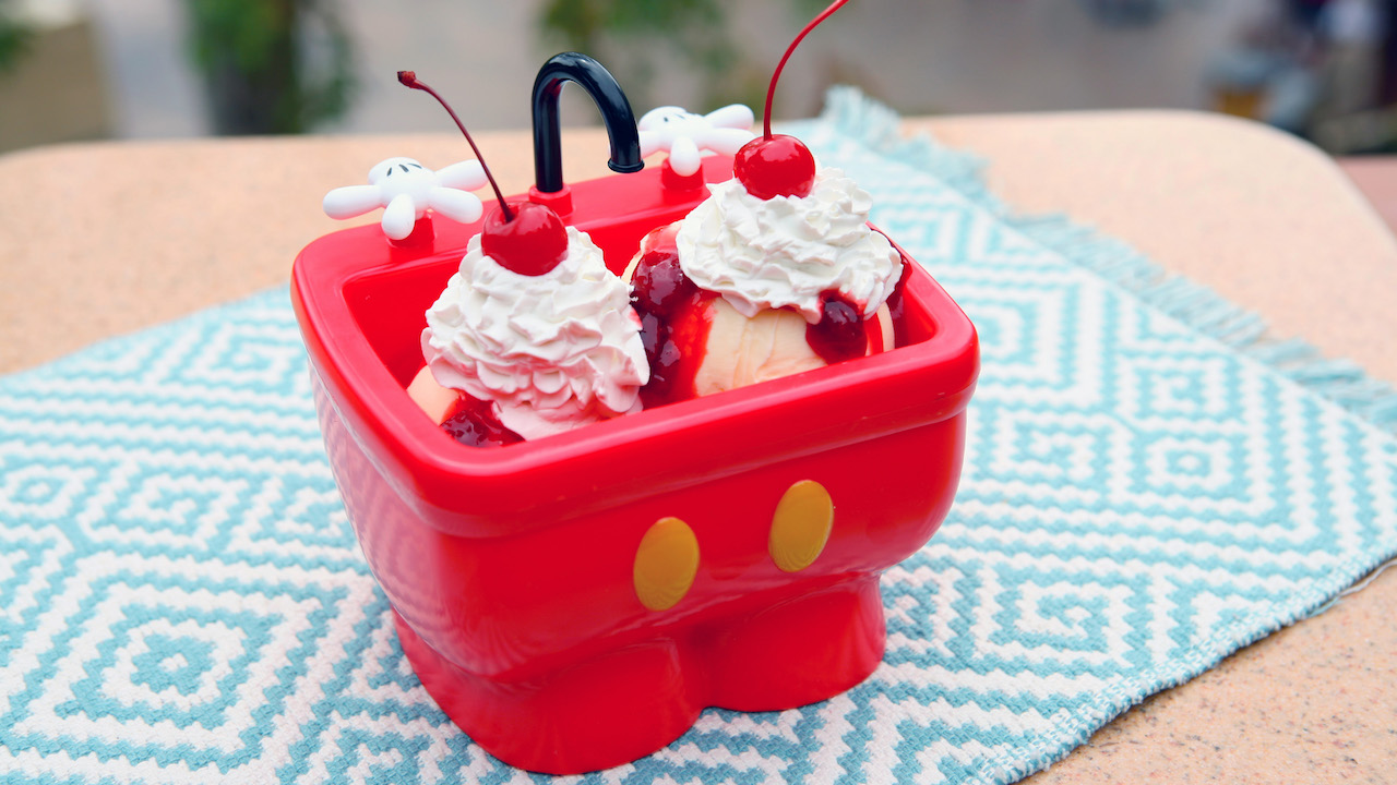 Mickey's Kitchen Sink at Plaza Ice Cream Parlor at Magic Kingdom Park