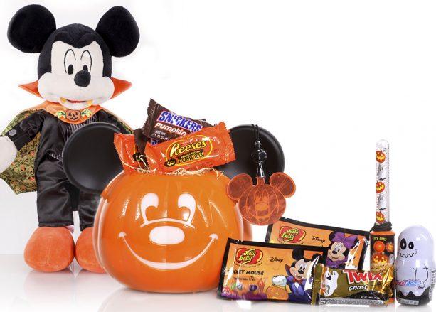 In-Room Pumpkin Bucket during Halloween Time at the Disneyland Resort