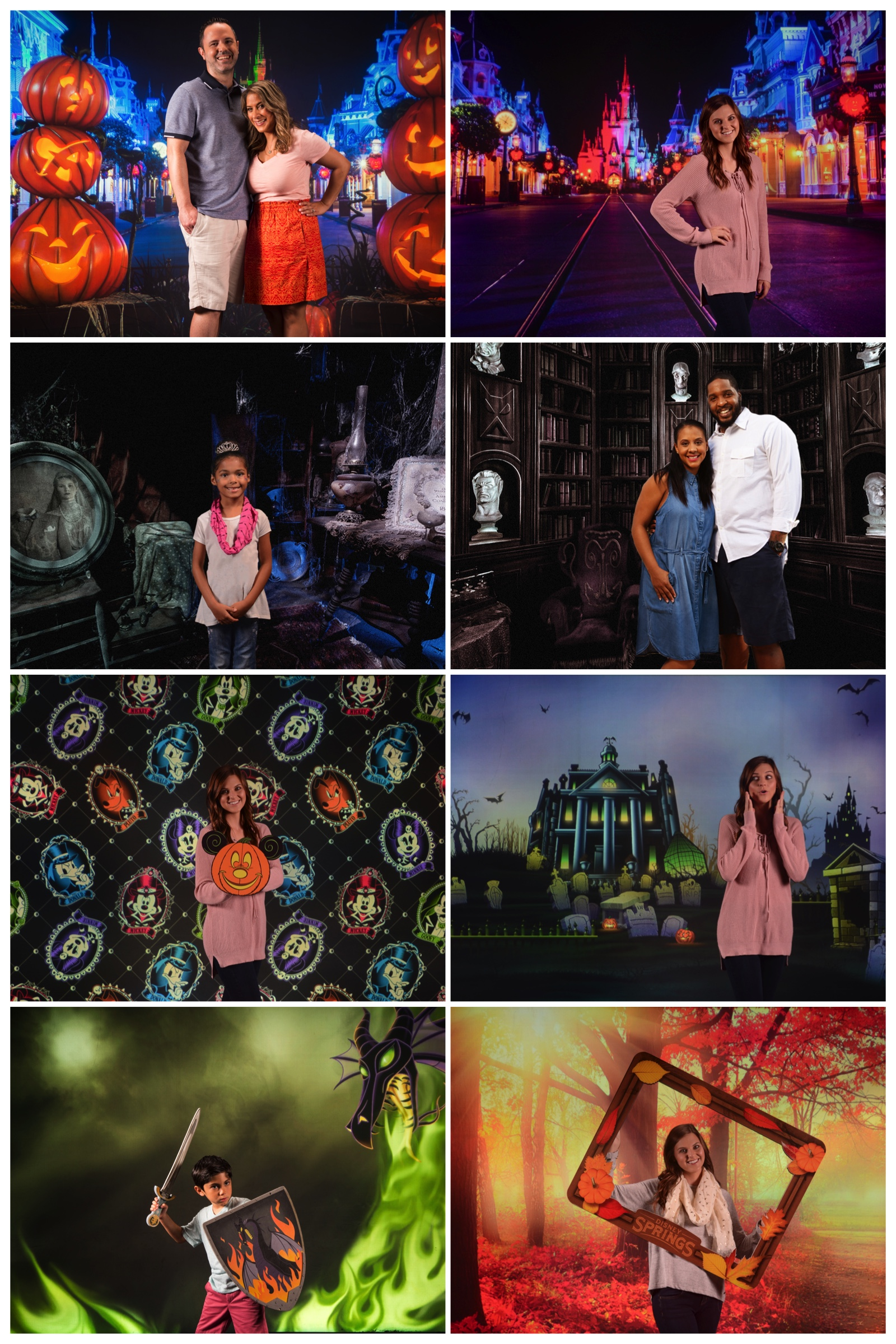 Fall Virtual Backdrops Have Arrived at the Disney PhotoPass Studio at Disney Springs