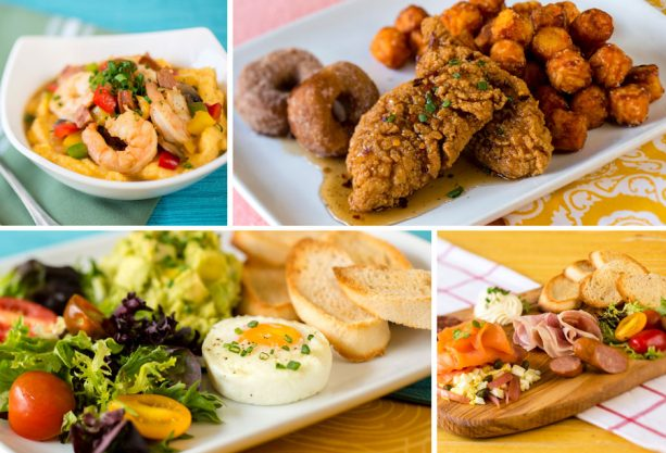 Breakfast Dishes at Early Morning Magic at Toy Story Land at Disney's Hollywood Studios