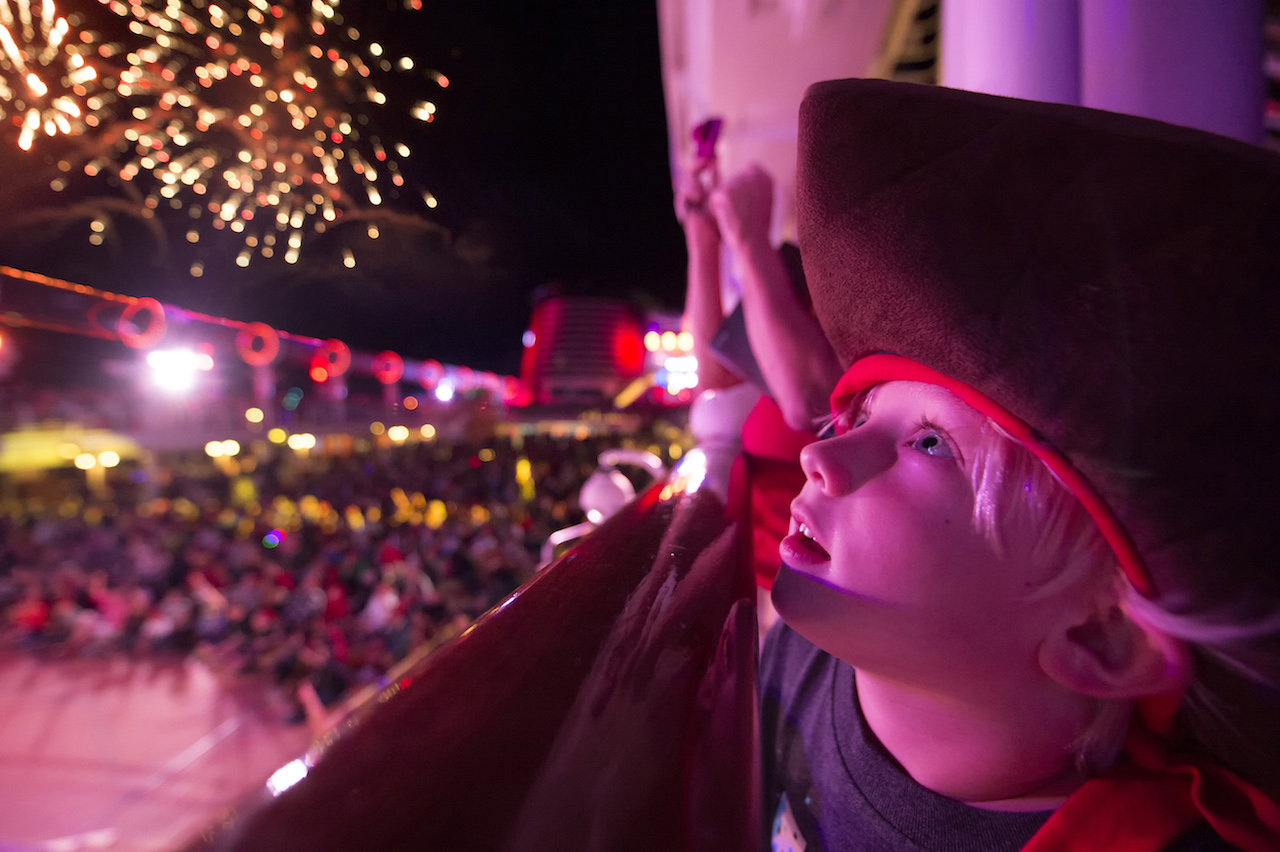'Buccaneer Blast!' Fireworks at Sea
