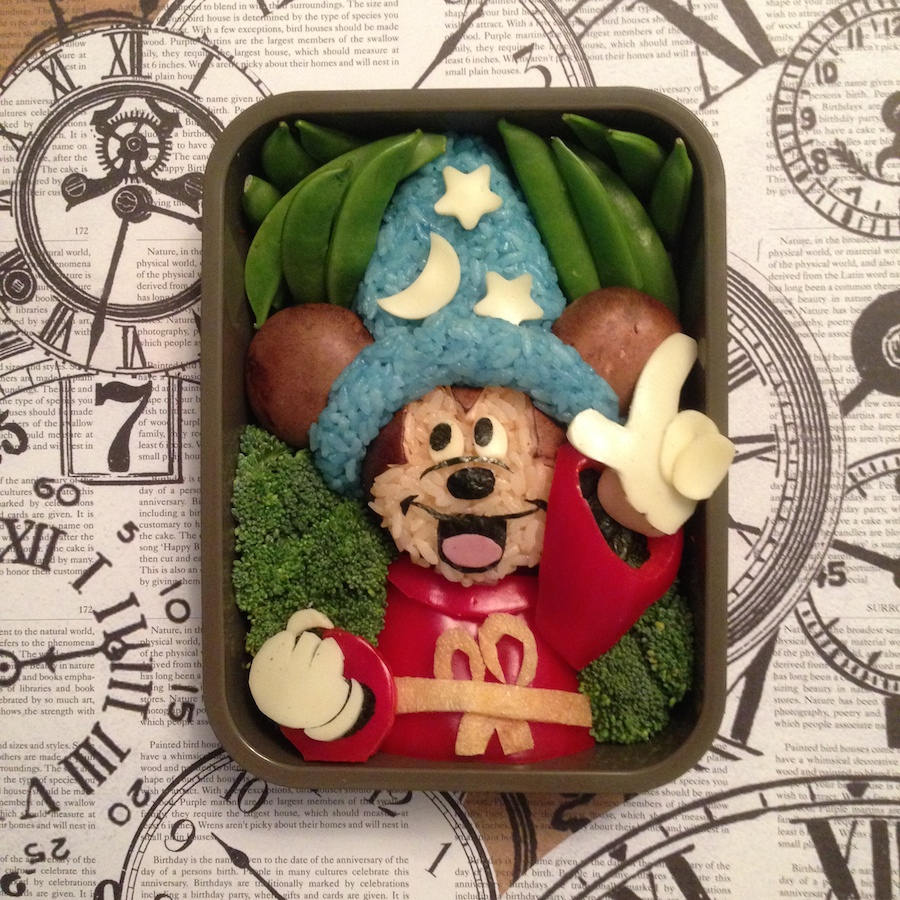 Disney Parks Blog Artist Mike Kravanis Creating Bento Box Magic at Epcot International Food & Wine Festival
