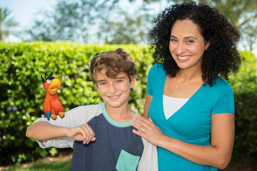 Animated Magic Shot from Disney PhotoPass at Disney's Animal Kingdom Featuring Iago