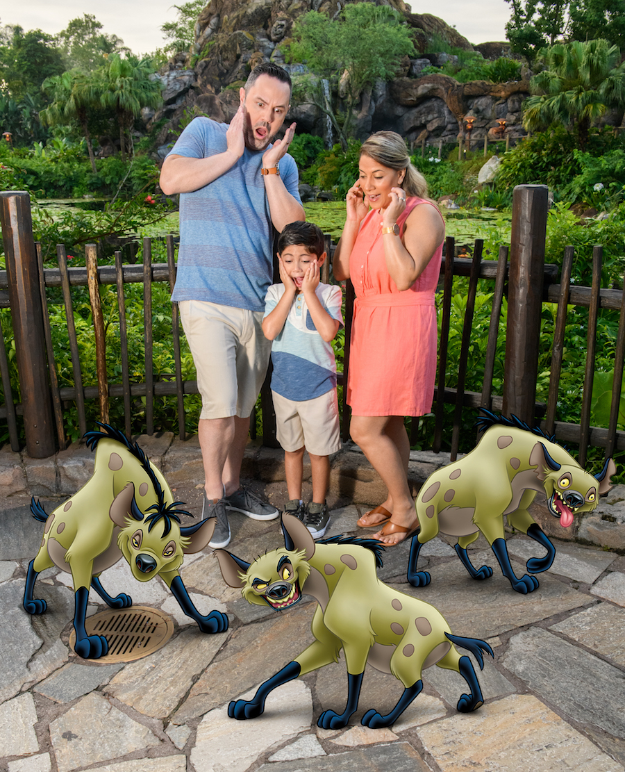 Animated Magic Shot from Disney PhotoPass at Disney's Animal Kingdom Featuring 'The Lion King'