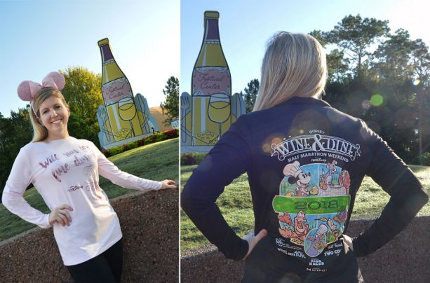 Get a Taste of the 2018 Disney Wine & Dine Half Marathon Weekend Merchandise