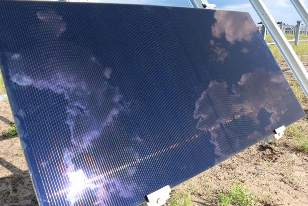First Panel Installed at New Solar Facility Providing Power to Walt Disney World Resort