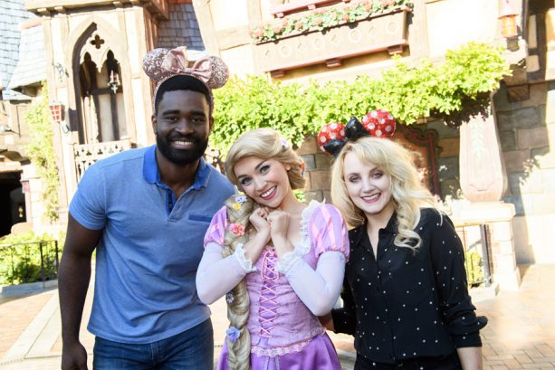 'Dancing With the Stars' Contenders Visit Disneyland Resort