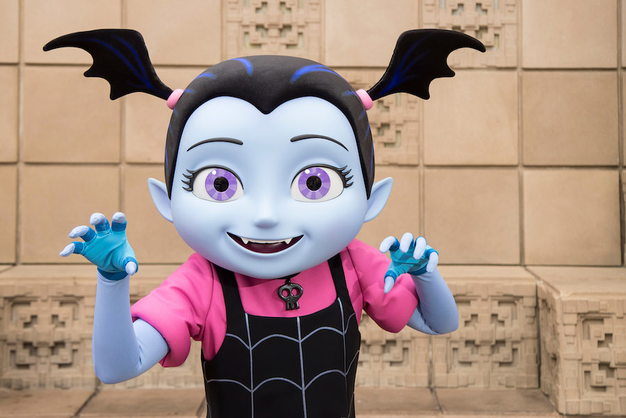 Vampirina has arrived at the Disneyland Resort, just in time for the Halloween season