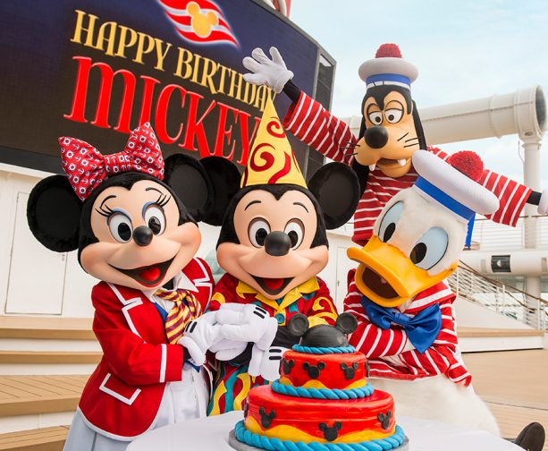 5 Ways to Celebrate Mickey's Birthday Aboard a Disney Cruise