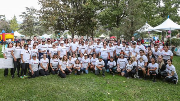Disney VoluntEARS at City of Hope's Walk for Hope