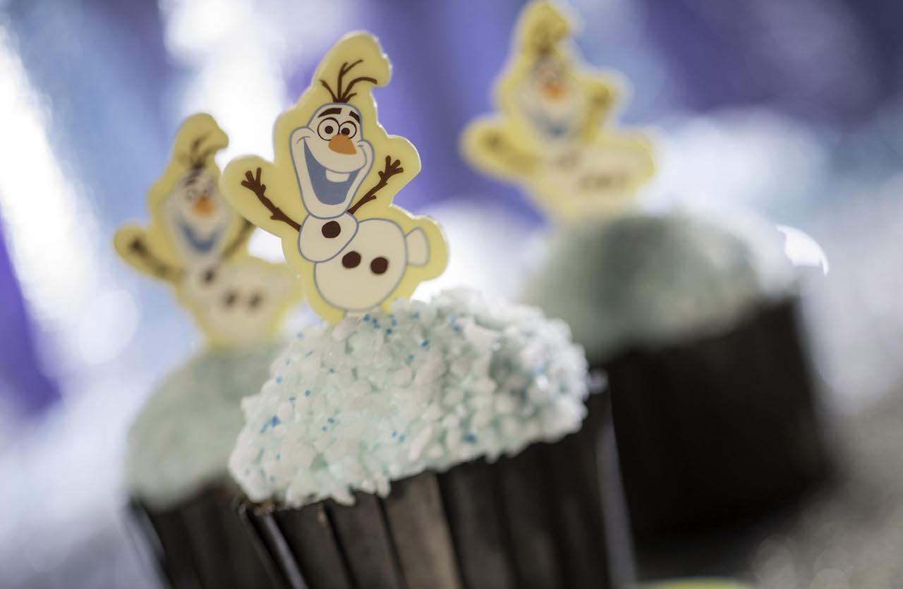 Olaf Cupcake for Flurry of Fun at Disney's Hollywood Studios