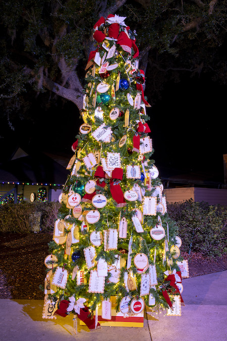 The Disney Springs Christmas Tree Trail Features Five New Themes in 2018