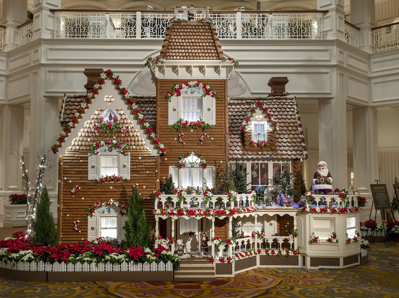 VIDEO: Watch as Disney's Grand Floridian Resort Pastry Chefs Build the 20th Annual Life-Sized Gingerbread House