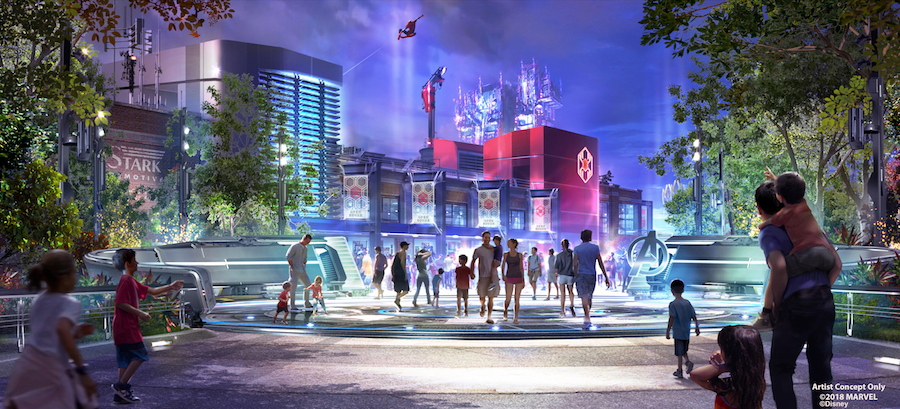 Global Avengers Initiative to Assemble Earth's Mightiest Heroes at Disney Parks Around the World