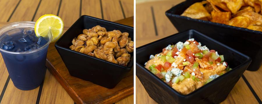 Menu Items from Restaurantosaurus Lounge at Disney's Animal Kingdom