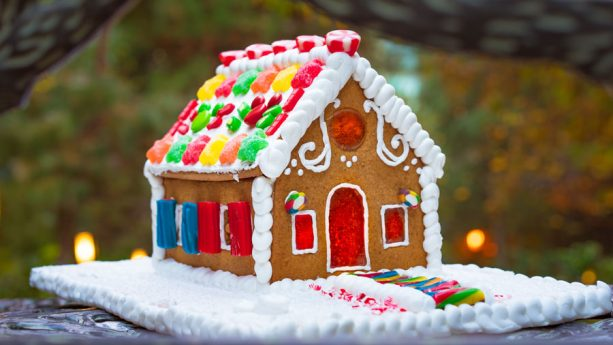 See the Grand Gingerbread House and Make Your Own at Disney's Grand Californian Hotel & Spa at the Disneyland Resort