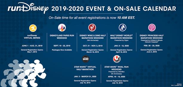 Start Planning Your runDisney Race Calendar for 2019–2020