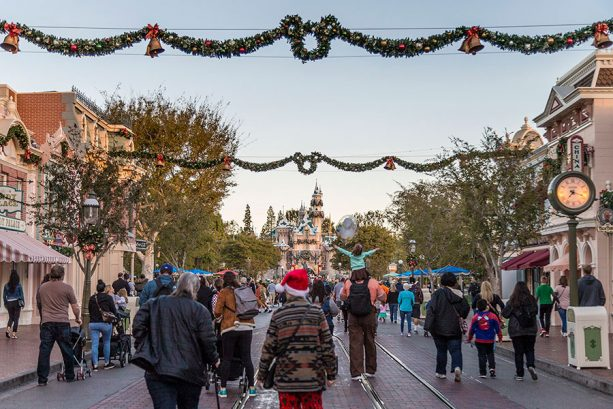 Main Street, U.S.A. at Disneyland park