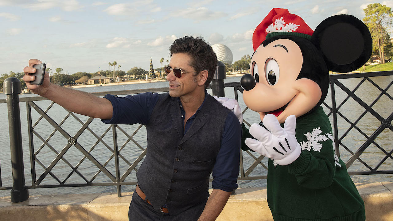 Entertainer John Stamos Plays to 'Full House' at Epcot International Festival of the Holidays