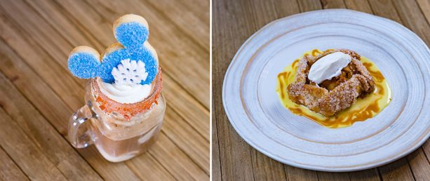 Dessert options at White Water Snacks, Disney's Grand Californian Hotel & Spa