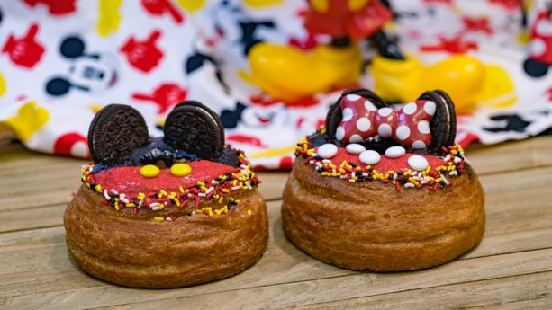 Get Your Ears On – A Mickey and Minnie Celebration croissant donut