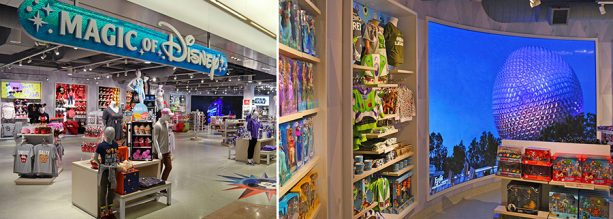 Newly Reimagined Magic of Disney Store Now Open in Orlando International Airport