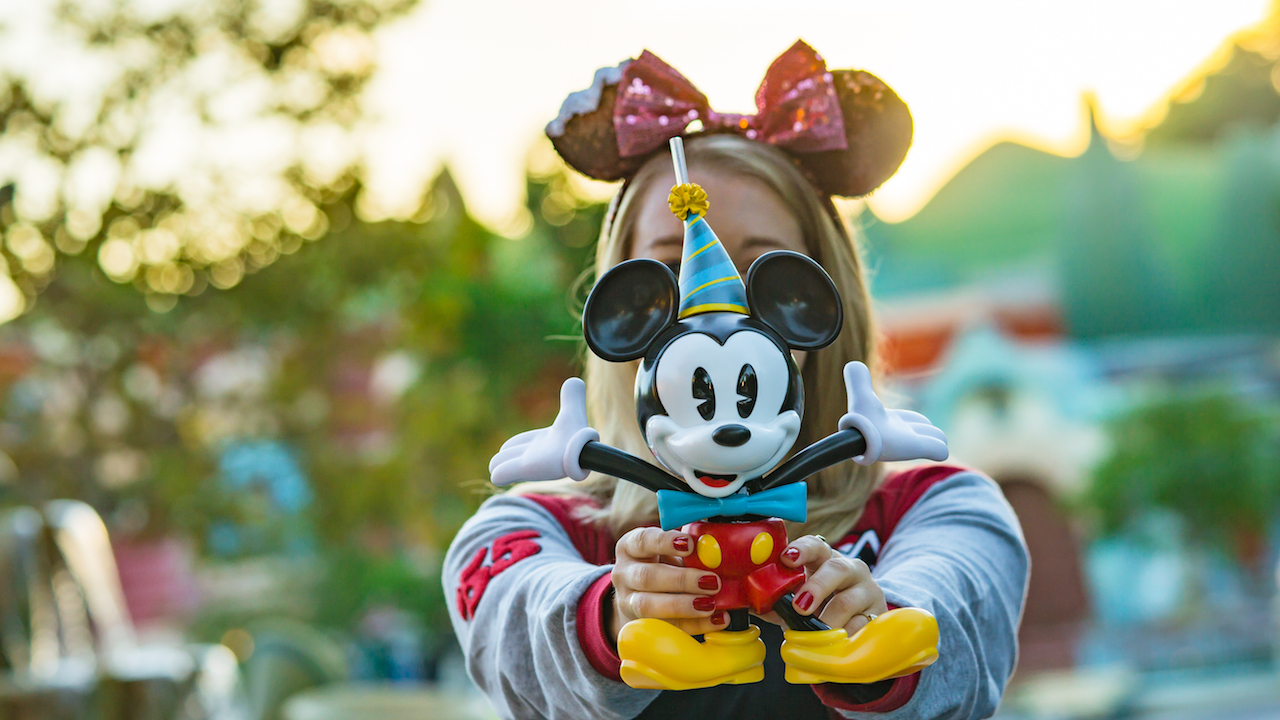 Mickey Sipper for Mickey & Minnie's Surprise Celebration at Magic Kingdom Park