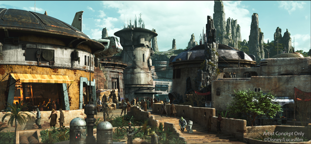 Star Wars: Galaxy's Edge, Disneyland Resort