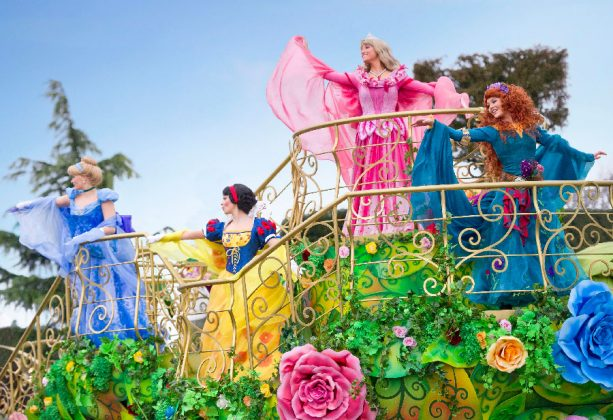 Festival of Pirates and Princesses at Disneyland Park at Disneyland Paris