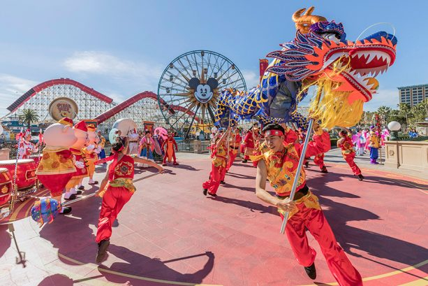 Celebrate Lunar New Year Starting Today at Disney California Adventure Park